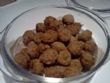 Mini Turkey Meatballs for Soup or Appetizer