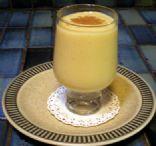 Mango banana fruit smoothie