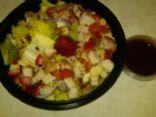 strawberry rosemary tenderloin salad