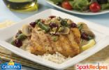 Pistachio Cranberry Grilled Tilapia Fillet with Asparagus