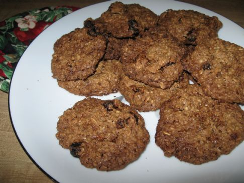 No Flour No Dairy Oatmeal Cookies