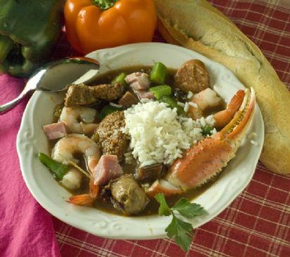 Louisiana Bayouland Seafood file Gumbo