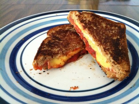 HG Pizza-fied Grilled Cheese