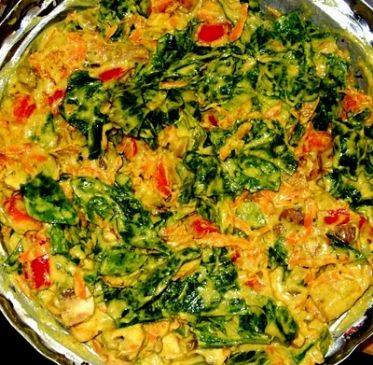 Rawsome Spinach Korma
