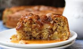 5 minute apple cake