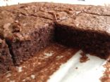 Chickpea Zucchini Chocolate Brownie