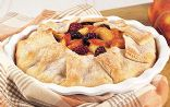 Rustic Peach-Blackberry Pie