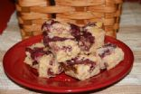 Cookies, Cranberry Cheesecake Bars, 76 cal/bar