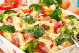 Baked Pasta with veggies and turkey