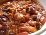 Ground Turkey and Bean chili