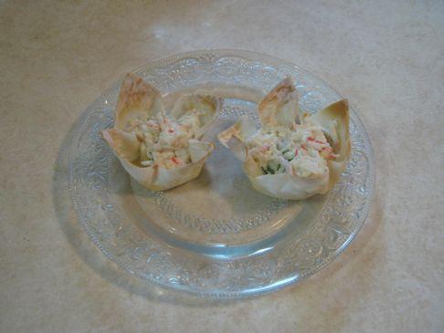 Healthier Crab Ragoon