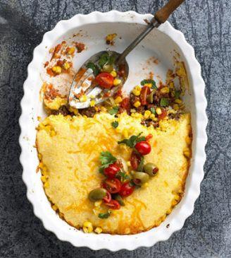 Mexicali Hambuger Casserole