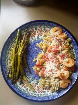 Zesty Shrimp Pasta