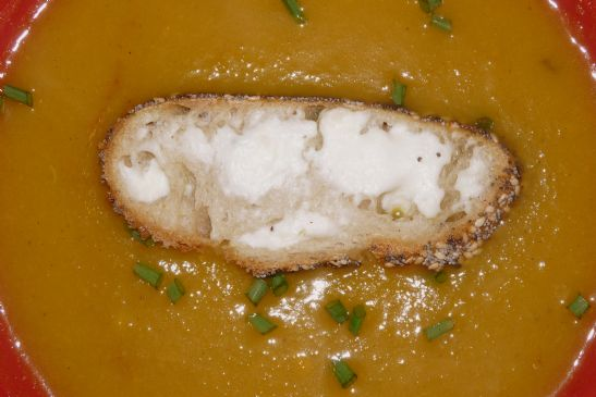 Roasted Curry Butternut Soup