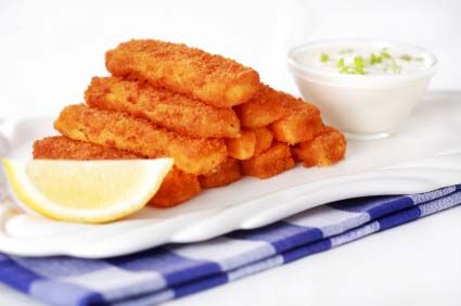 Homemade fish Sticks
