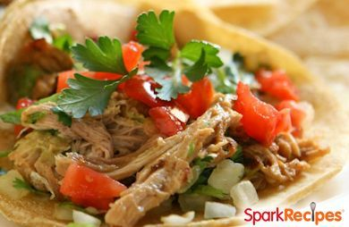 Slow Cooker Salsa Chicken