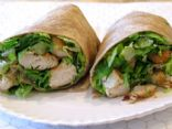 BloomU's IK Chicken Caesar Wrap