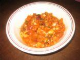 Olive Garden Pasta Fagioli Copycat - 1 cup/serving