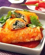 Weight Watchers Cheese Spinach Enchiladas