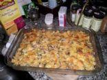 Gluten Free Broccoli and Butternut Squash Casserole