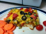 Biscuit Enchilada Bake