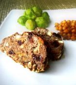 Blue Cheese & Cherry Meatloaf