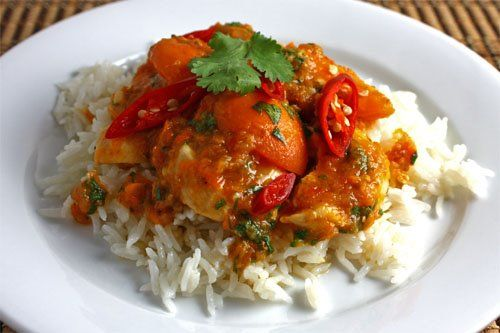 Chicken and Apricot Curry