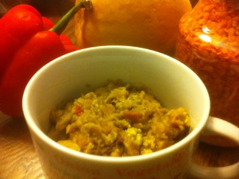 Red Lentils & Squash Curry (for crockpot)