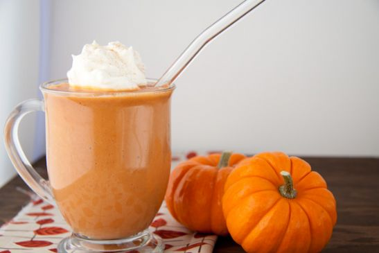 Pumpkin Spice Protein Smoothie