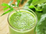 Spinach Protein Smoothie 55%carb, 25%prot, 20%fat