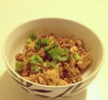 Mabo Tofu with lean ground turkey