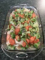 Baked Chicken & Veggies