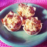 Double Layer Hawaiian BBQ Cupcakes