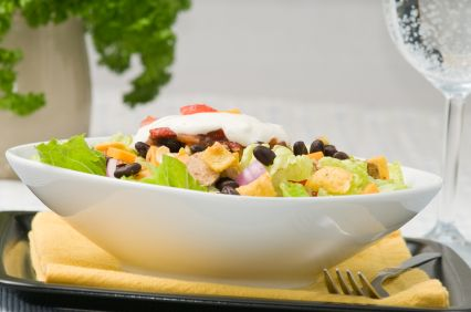 Member Makeover: Turkey Taco Salad