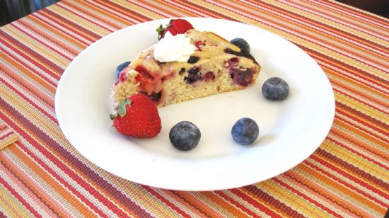 Berry Muffin Top Cake