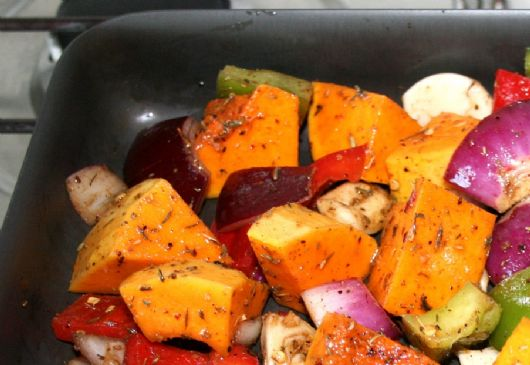 Juicy Roast Vegetables