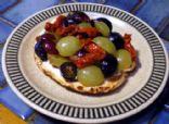 Grapes Bruschetta