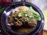 Salsibury Steak with potato/parsnip smash