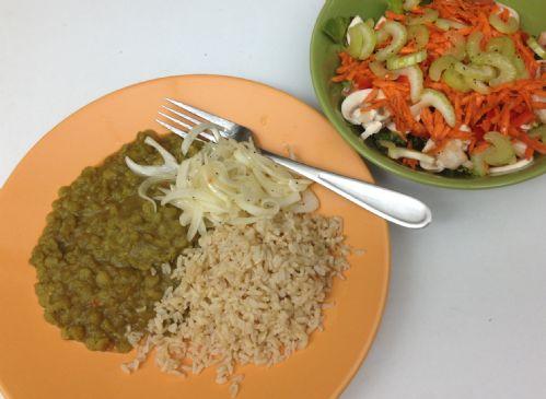 Split Peas as a side dish