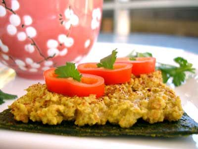 Raw Curry Pate