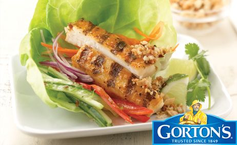 Thai Style Tilapia Wraps from Gorton's�