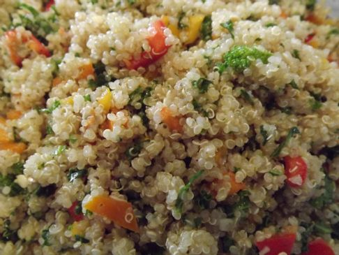 Cold Quinoa Salad