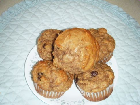 Banana Peanut Butter Muffins