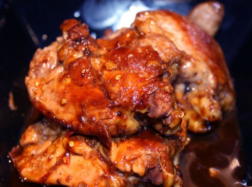 Asian Sticky Chicken