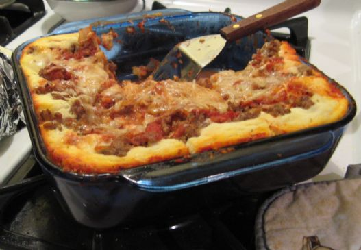 Shar's Lasagna with Homemade Sauce
