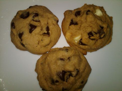 Healthified Big Chocolate Chip Cookies