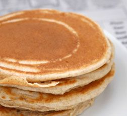 Scotch Pancakes, gluten free & vegan
