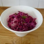 Fresh Red Cabbage Pickle