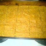 Jamie Easons pumpkin protein bars