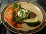 Smoked Salmon and Poached Egg Breakfast